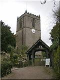 SD9772 : St Mary's Church, Kettlewell, Lych gate by Alexander P Kapp