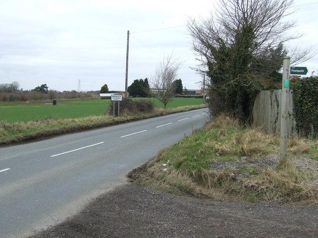 Entering Henley