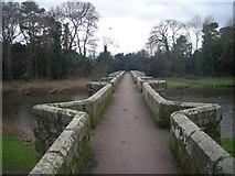 SJ9922 : Crossing Essex Bridge by Row17