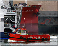 J3576 : The 'Leanne McLoughlin' at Belfast by Rossographer