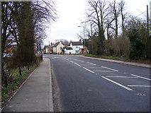 TM0843 : A1071 George Street, Hintlesham by Geographer