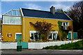 B7923 : Bunbeg Harbour Road - House by Joseph Mischyshyn