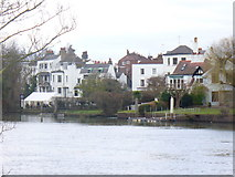 TQ1673 : Riverside Twickenham by Colin Smith