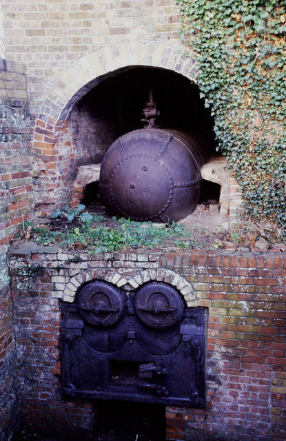 'Elephant boiler', Beeleigh Mill