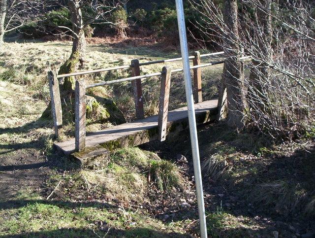 Little bridge at Bedburn