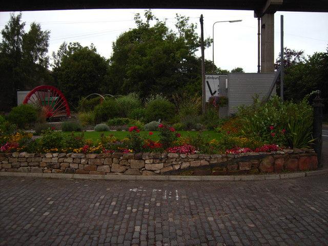 """Beechgrove"" garden at mining museum"
