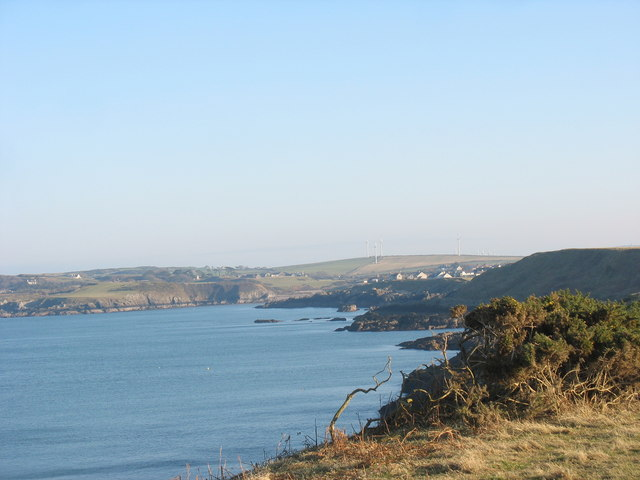 The shores of Cemaes Bay
