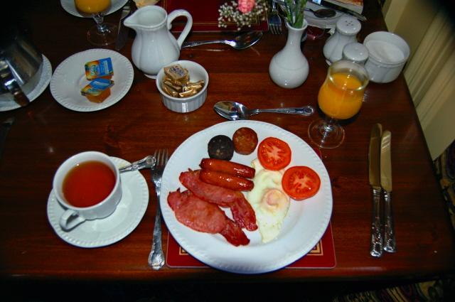 Glashagh - Teach Jack's Hotel full Irish breakfast