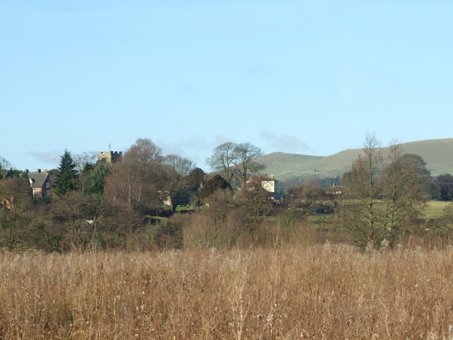 Weaver Hills from Calwich Park near Ellastone