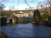 SD9062 : Bridge over the Beck at Malham by Dave Beynon