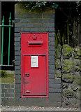 SO9097 : Victorian Post Box on Penn Road, Wolverhampton by Roger  Kidd