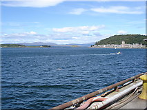 NM8529 : Oban Bay - from the ferry terminal by Ian Cunliffe