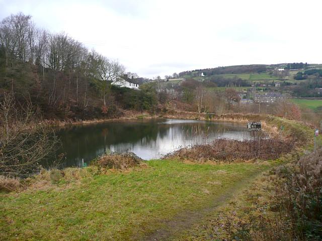 Reservoir, near Finkle Street, Luddenden Foot