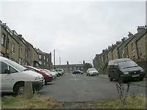 SE1734 : Peel Park Terrace - Peel Park Drive by Betty Longbottom