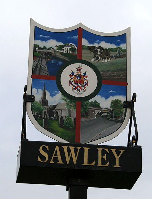 Sign for Sawley