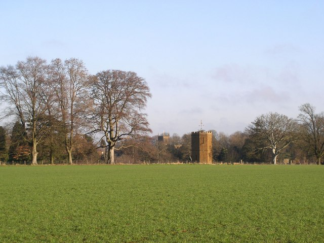 Wroxton Abbey Dovecot and Church Tower