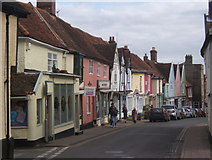 TM2749 : Towards Woodbridge town centre by Andrew Hill