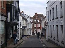 TM2749 : Along Church Street in Woodbridge by Andrew Hill