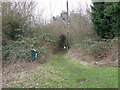 TL1868 : Footpath from Hardwick by Michael Trolove