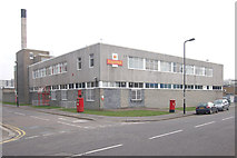 TQ1979 : Royal Mail Delivery Office, Acton, W3 by Andrew Hackney