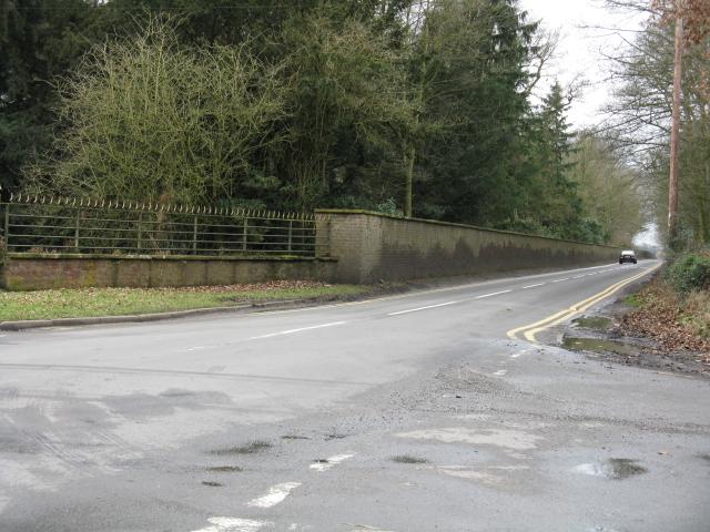 Ashley Road at Tatton Park's Entrance