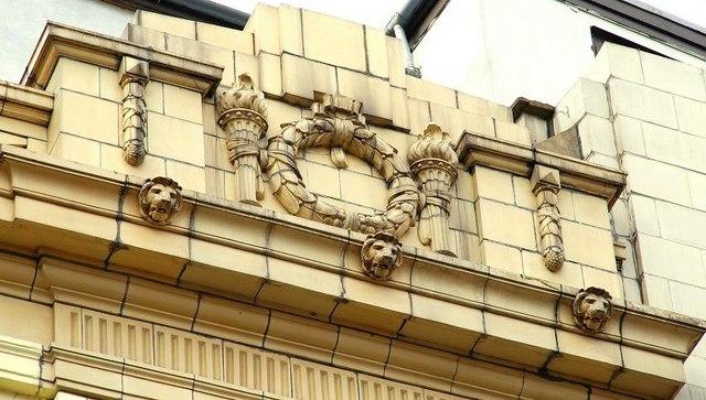 Art Deco detail, Belfast (1)