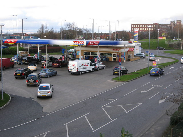 Tesco Fuel Station Oldham