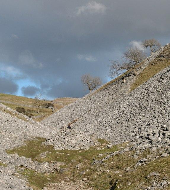 Scree slopes, Conistone Dib