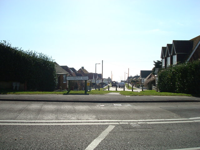 Wellington Road, Peacehaven, East Sussex by Stacey Harris