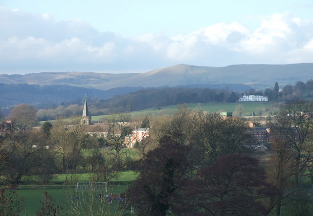 Rocester Church, Arkwrights Mill & The Weaver Hills