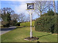 TM2242 : Foxhall Village Sign by Geographer