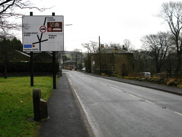 Denshaw Junction