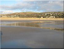 SH5630 : Low tide at Harlech by David Medcalf