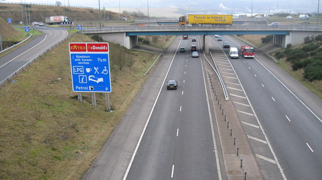 M65 Junction 5