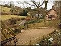 ST1835 : Cottage near Aisholt by Derek Harper