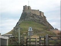 NU1341 : Lindisfarne Castle by Oliver Newbury