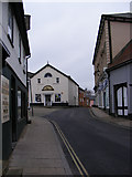 TM3877 : Chediston Road, Halesworth by Adrian Cable