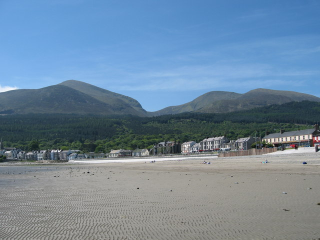 The mountains of Mourne roll down to the sea.
