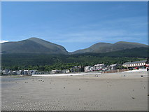 J3830 : The mountains of Mourne roll down to the sea. by Raymond McSherry