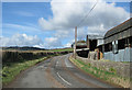 SO4420 : Road climbing to Grosmont by Pauline E