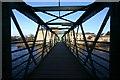 NZ0415 : Tees Footbridge, Thorngate by Andy Waddington