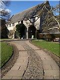 SX7962 : Gatehouse range, Dartington Hall by Derek Harper
