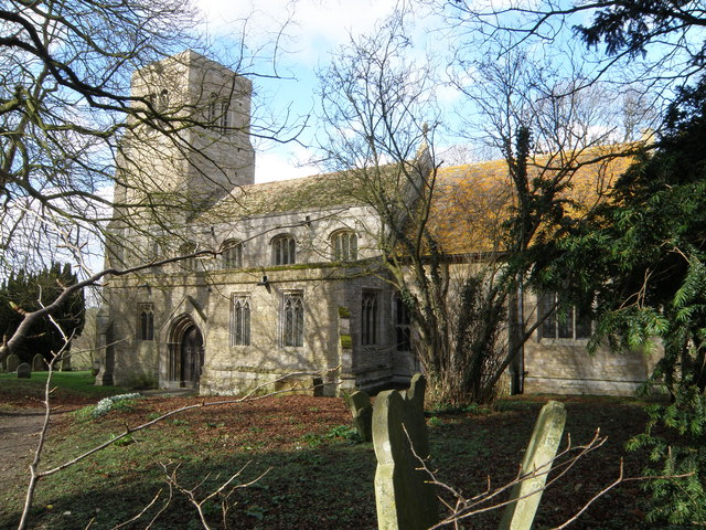 St Botolph's in early spring