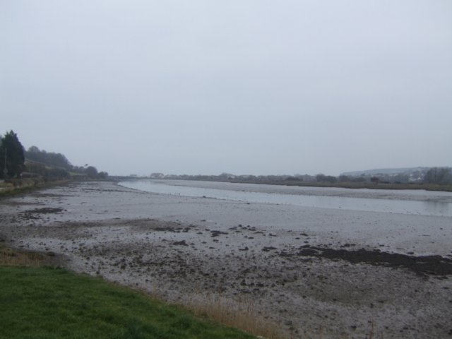 Axe estuary at low tide