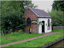 SJ9922 : Canal Gift Shop at Great Haywood, Staffordshire by Roger  Kidd