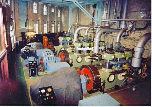 Grimsby Ice Factory - Compressor Room