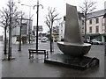 H3497 : Sculpture, Strabane by Kenneth  Allen
