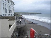SH1726 : Aberdaron - the beach by Ian Cunliffe
