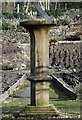 NR3362 : Sundial in Islay House Community Garden by Patrick Mackie