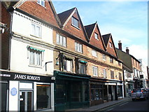 TQ1649 : Gabled West Street, Dorking by Colin Smith